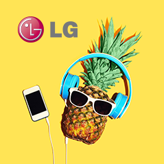 Landing page for LG